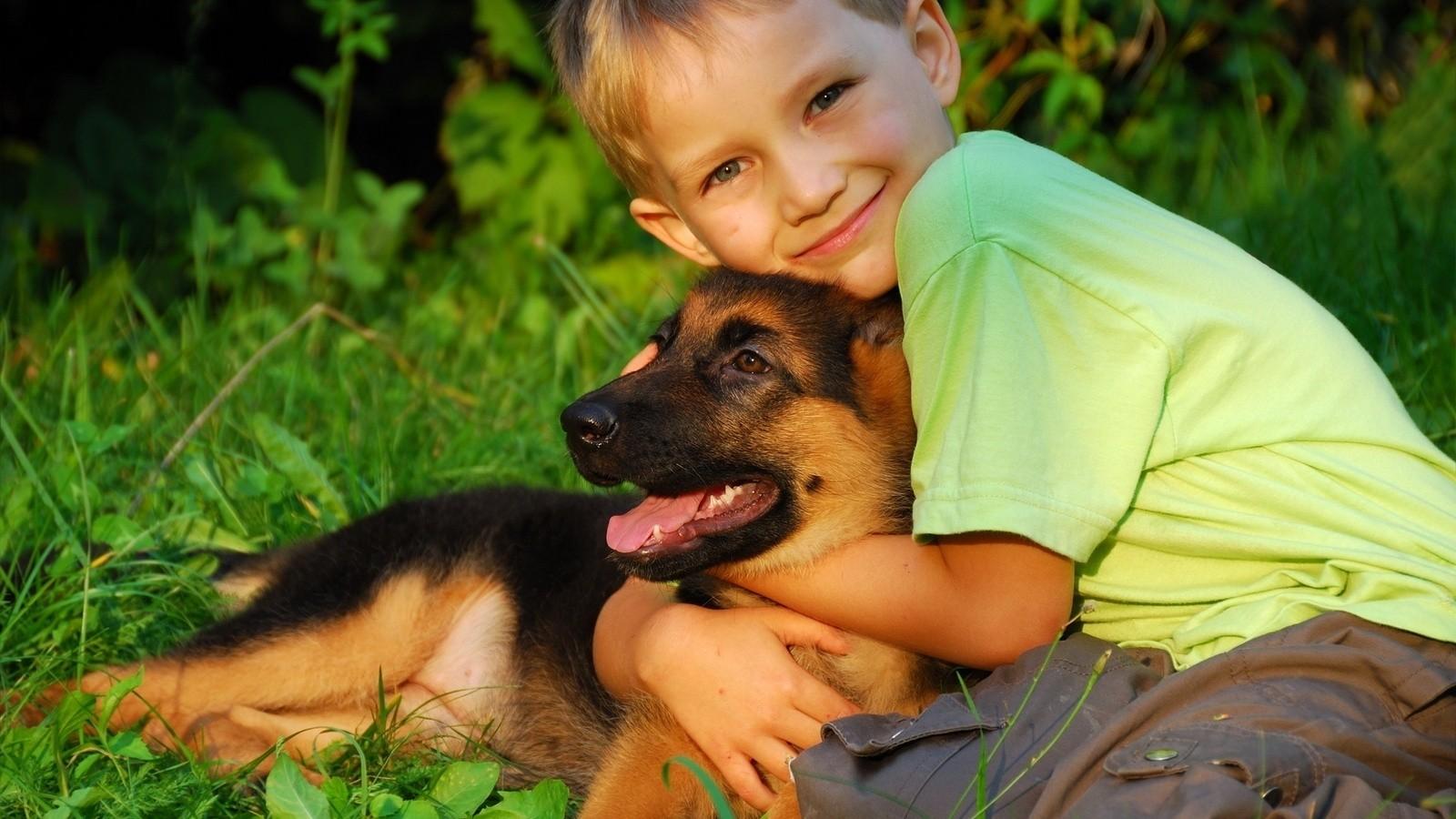 Учёные поведали отом, что животные могут укрепить здоровье детей
