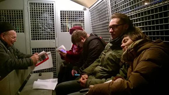 Растет число задержанных уБелого дома в столице России