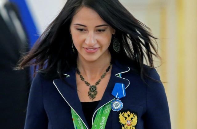 Олимпийская чемпионка Егорян получила премию «Спортсменка года»