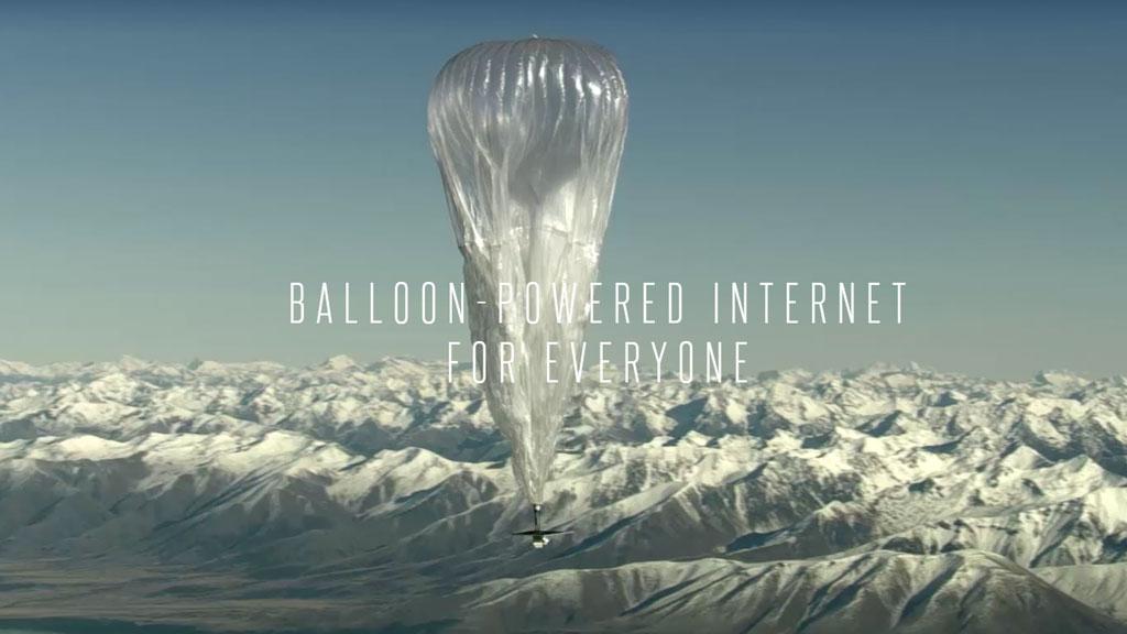 Владелец Google отказался размещать воздушные шарики синтернетом повсей планете