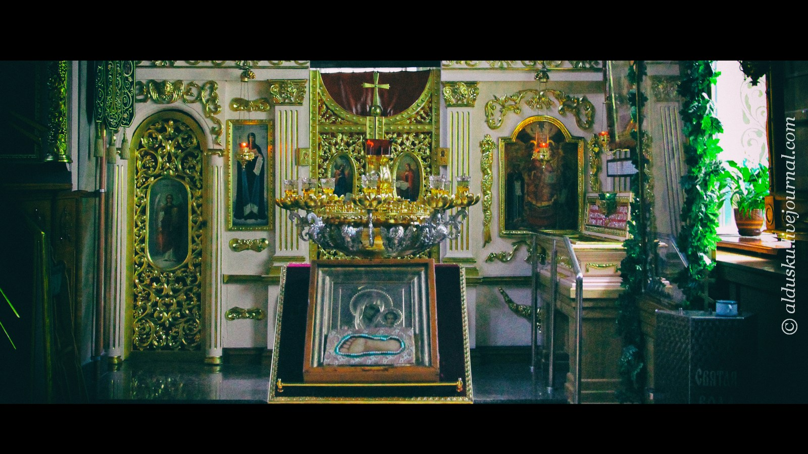мощи святой преподобной Манефы Гомельской