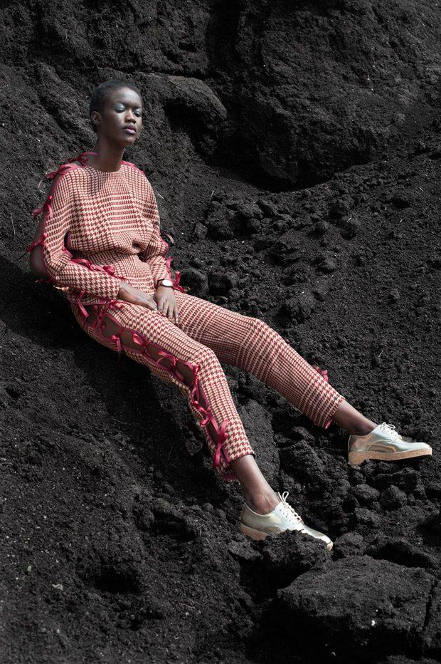Top / trousers - Christa Van Der Meer Watch - DKNY Shoes - H&M