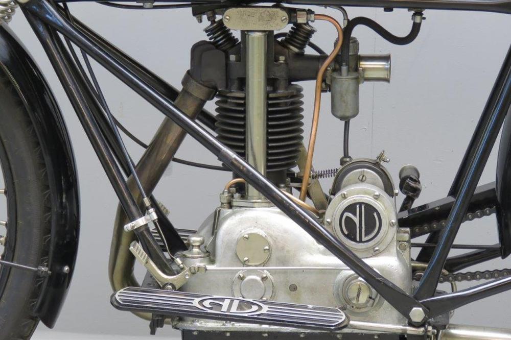 Мото классика NV Model 249 1927