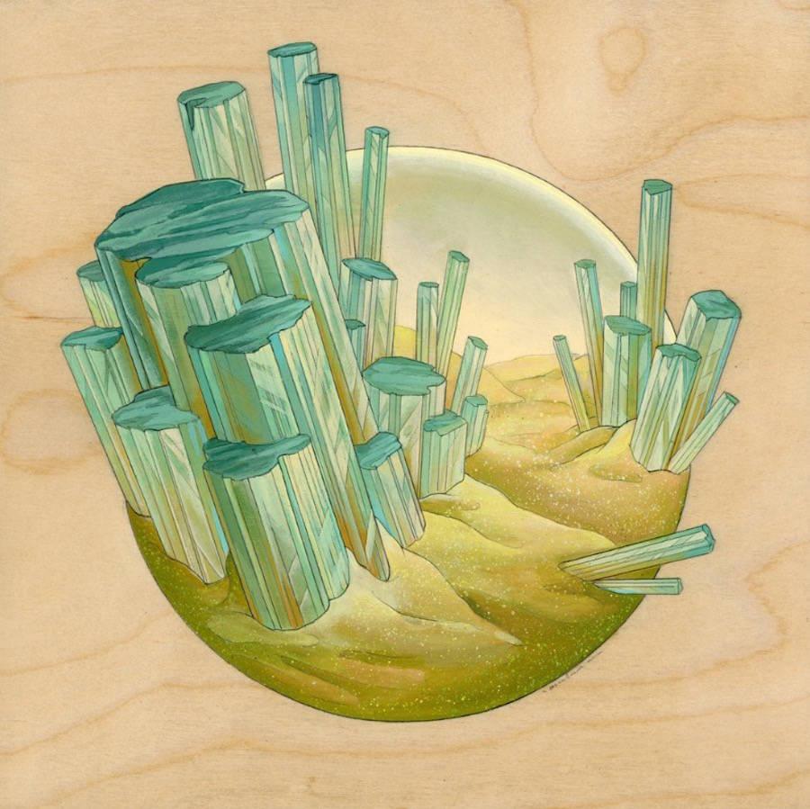 Little Floating Fantasy Worlds