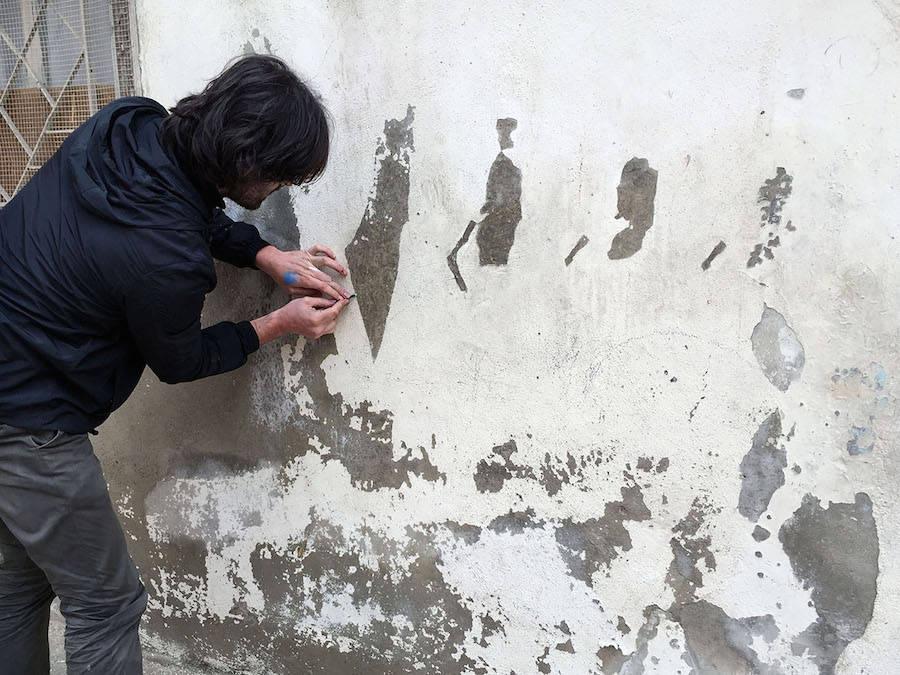 New Powerful Street Art by Pejac