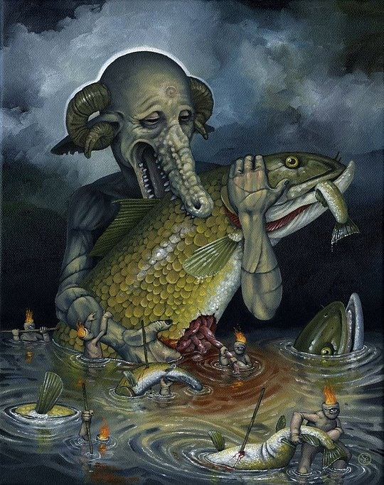 Surreal Paintings by Jeff Christensen