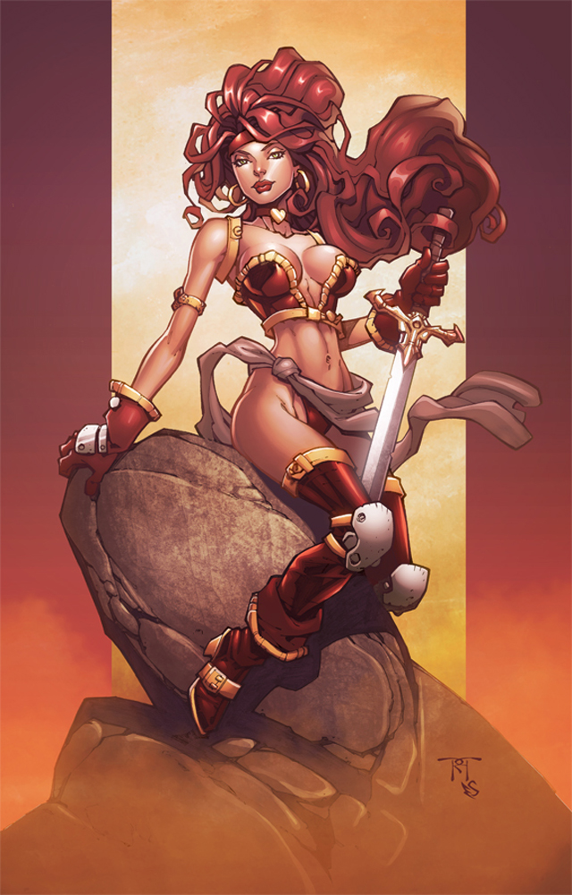 Pinups and Comic Covers by Eddy Swan