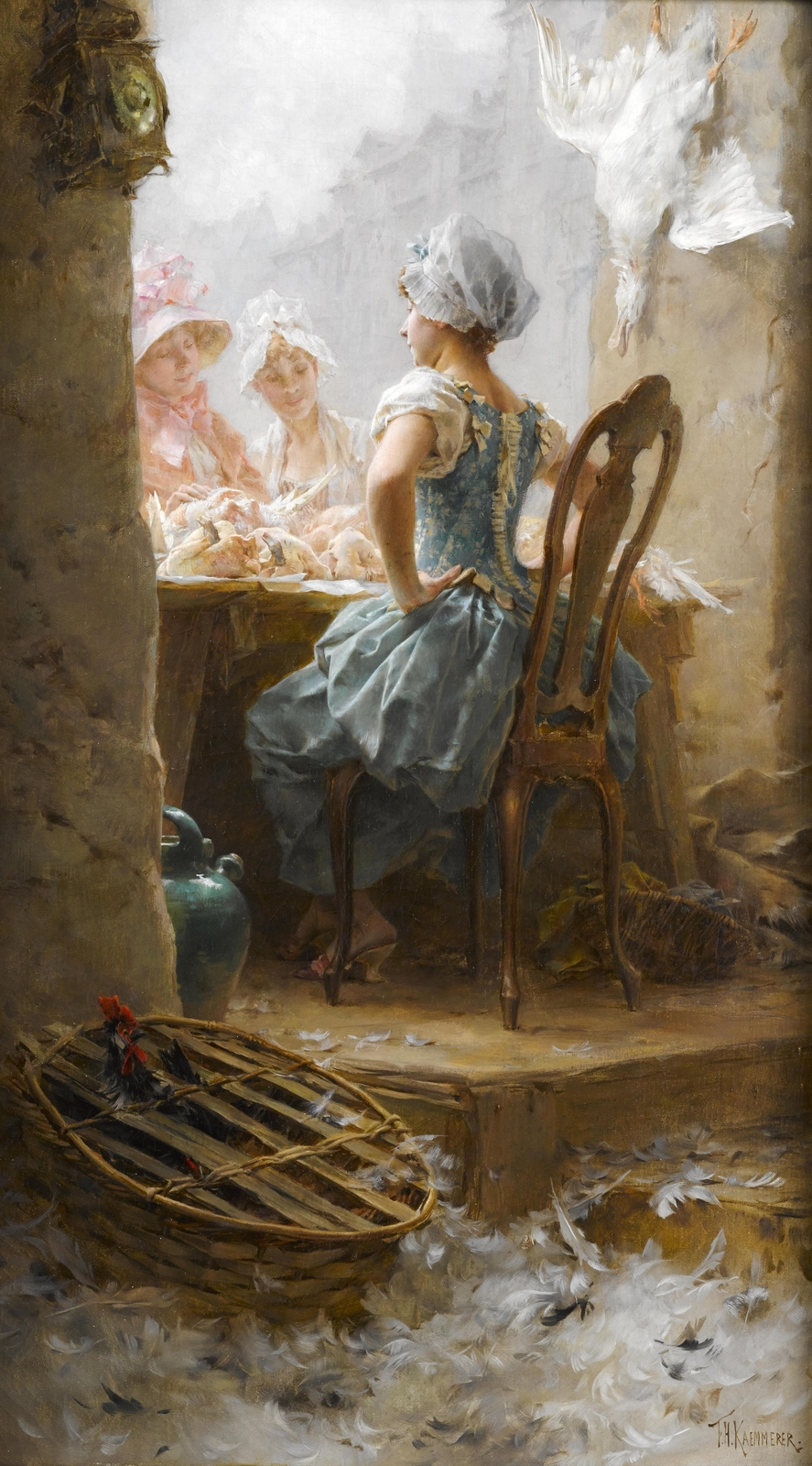 Frederik Hendrik Kaemmerer (Dutch, 1839-1902) - At the market.jpg