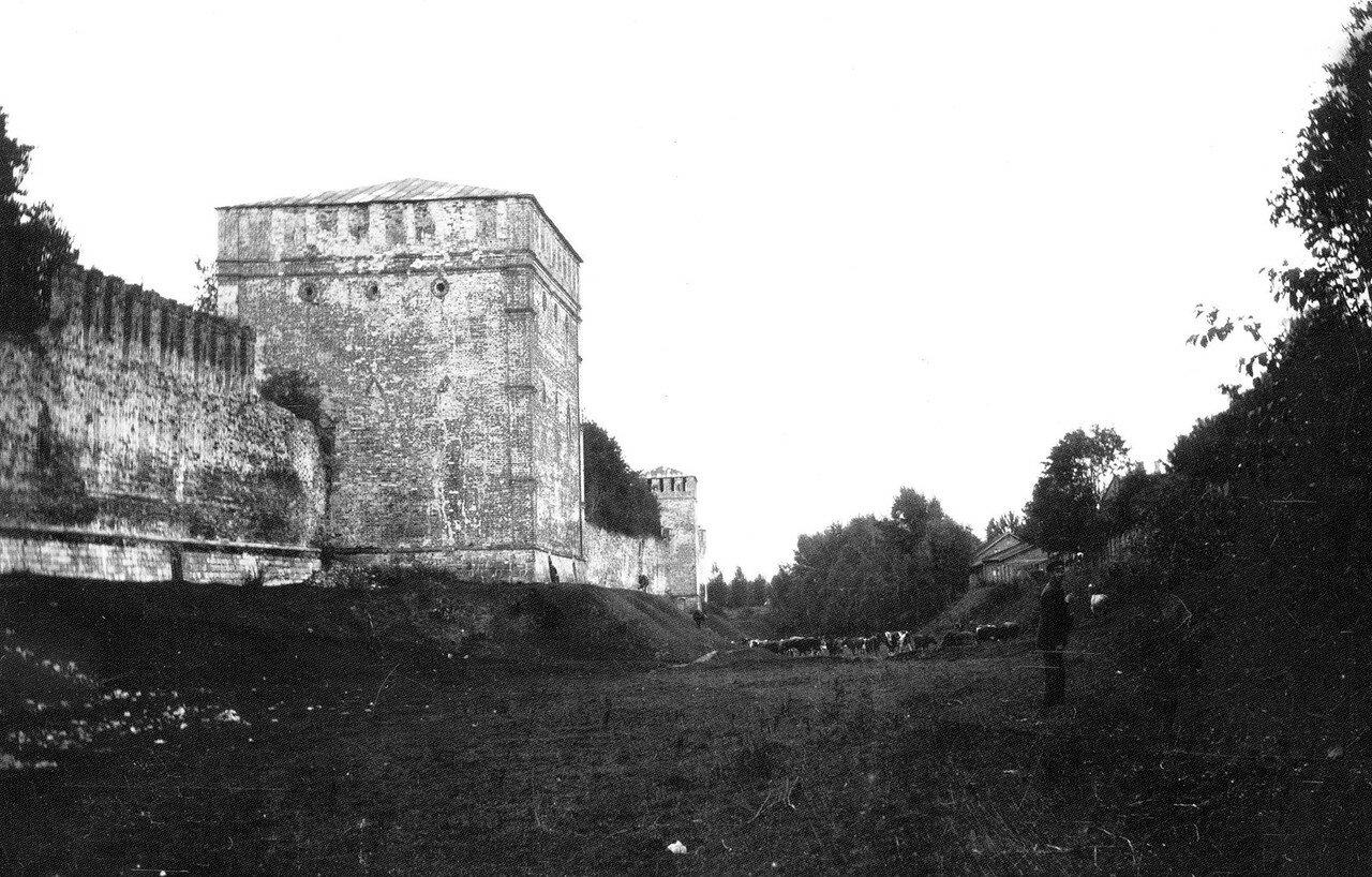Башни Копытецкая и Бублейка. 1912
