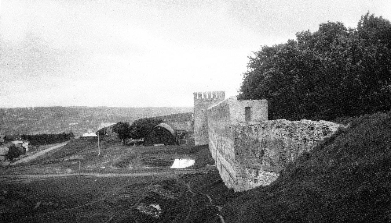 Вид с Королевского бастиона на Гуркину башню. 1906
