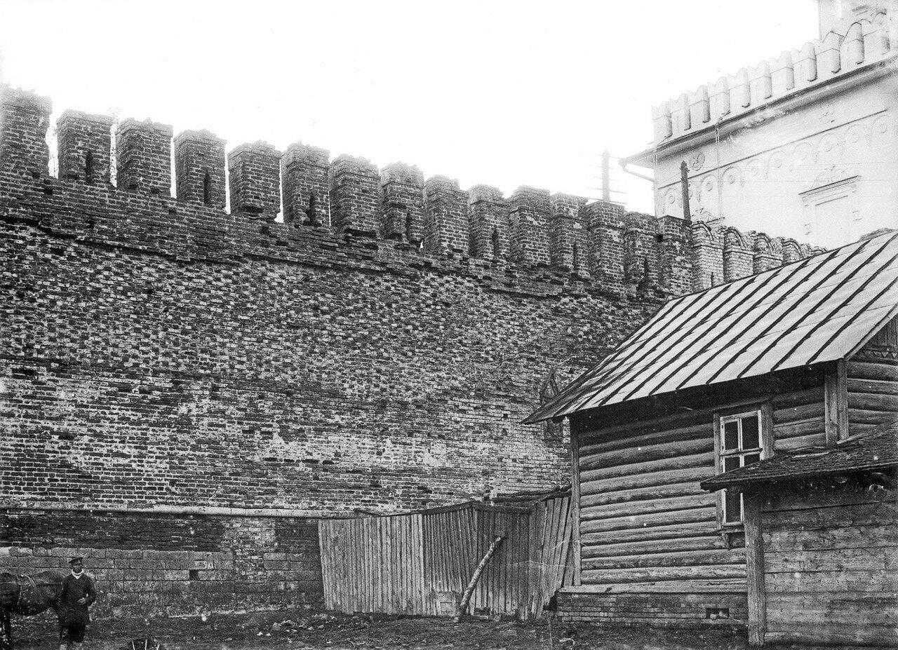 Крепостная стена у Молоховских ворот. 1912