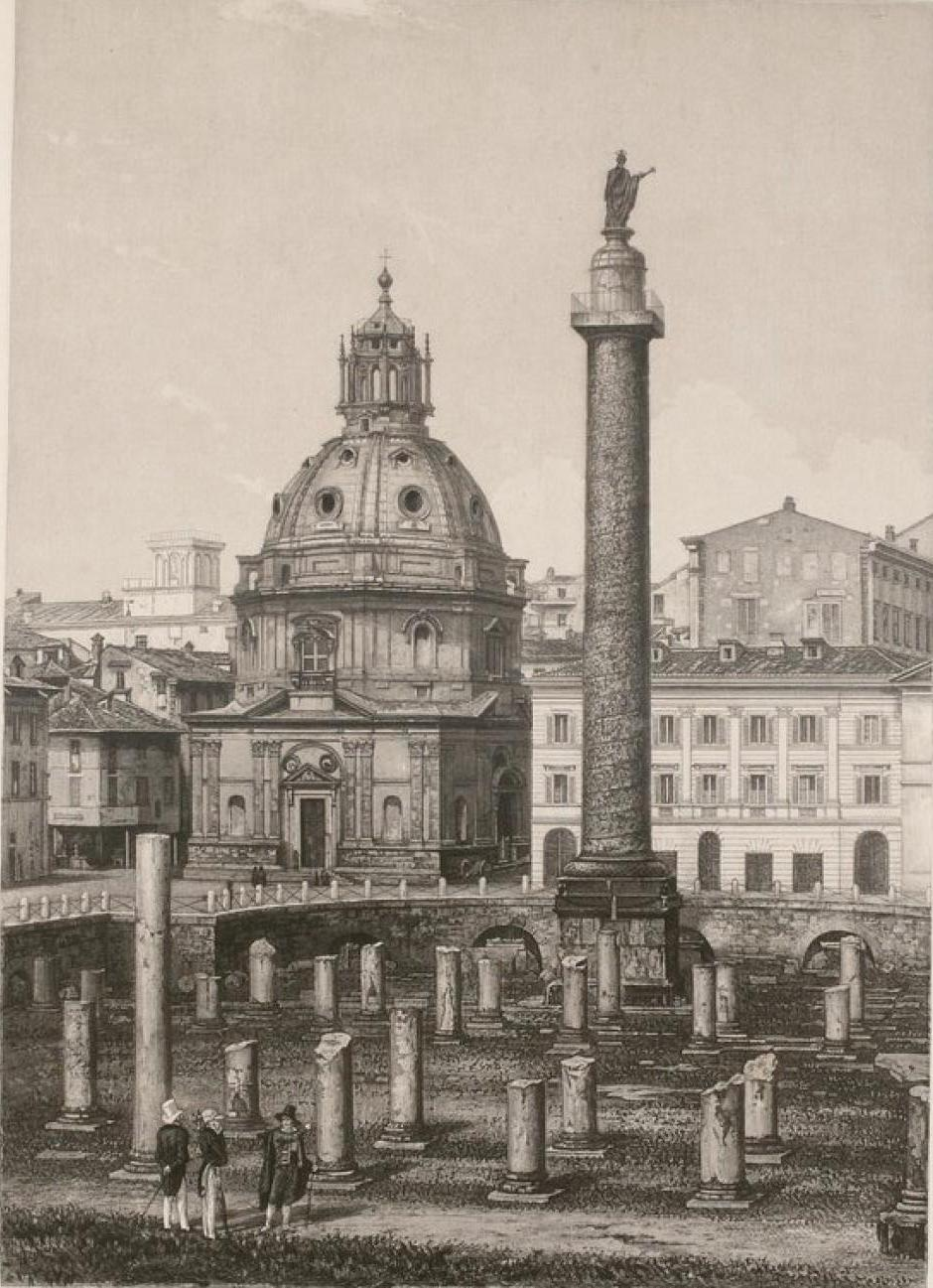 Италия. Рим. Колонна Траяна