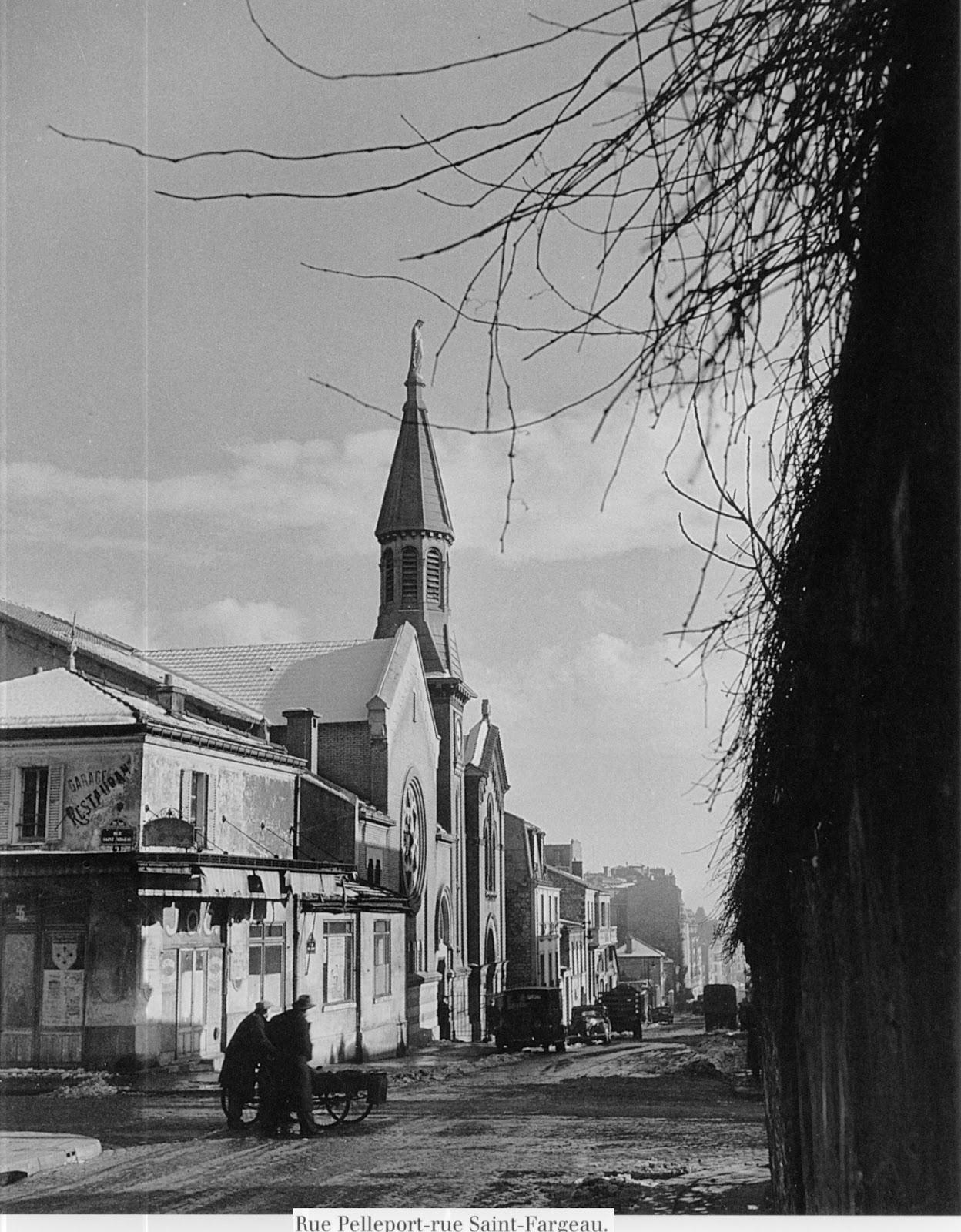 1948. Рю Пельпор - рю Сен-Фаржо