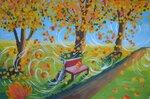 Минашкина Яна (рук. Киселева Дарья Вагифовна) - «Бал листьев»