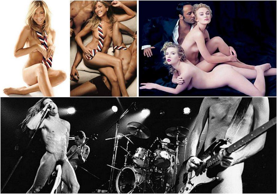 Legendary erotic photos of celebrities