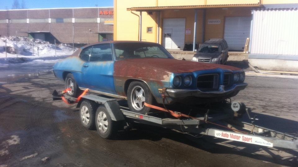 Восстановление Pontiac GTO 1970 The Judge