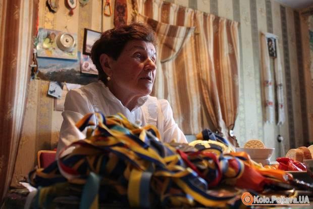 75-летняя Анастасия Дойникова свой юбилей отпраздновала на вершине горы Казбек