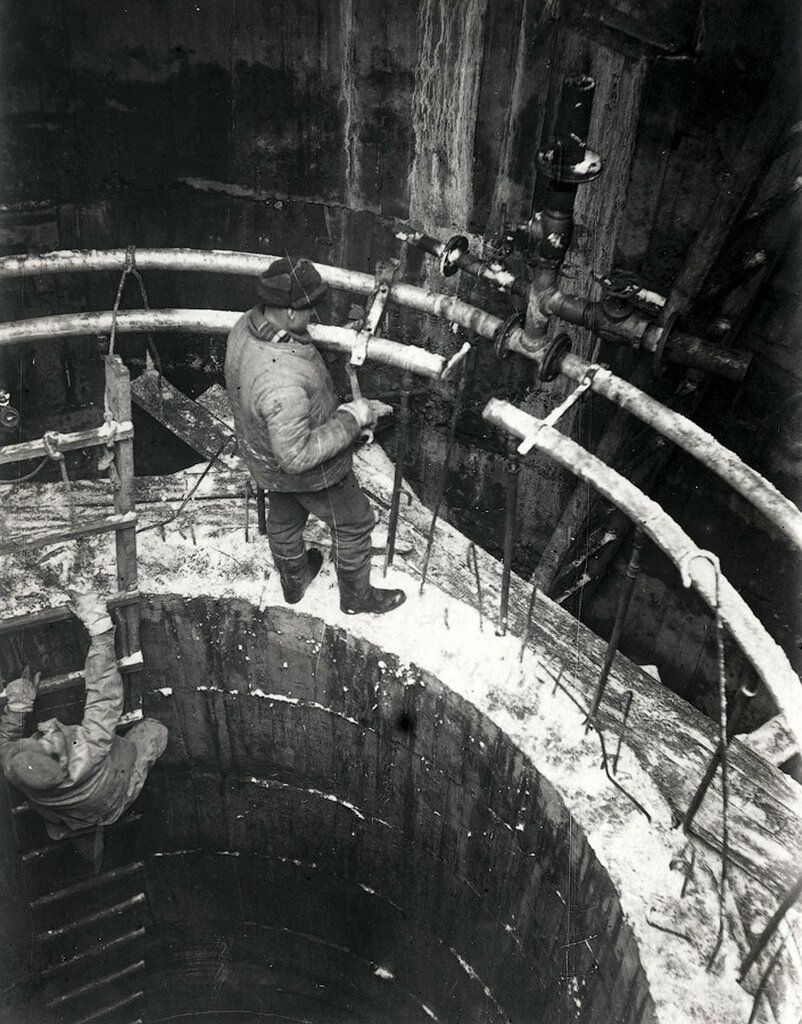 Строительство шахты