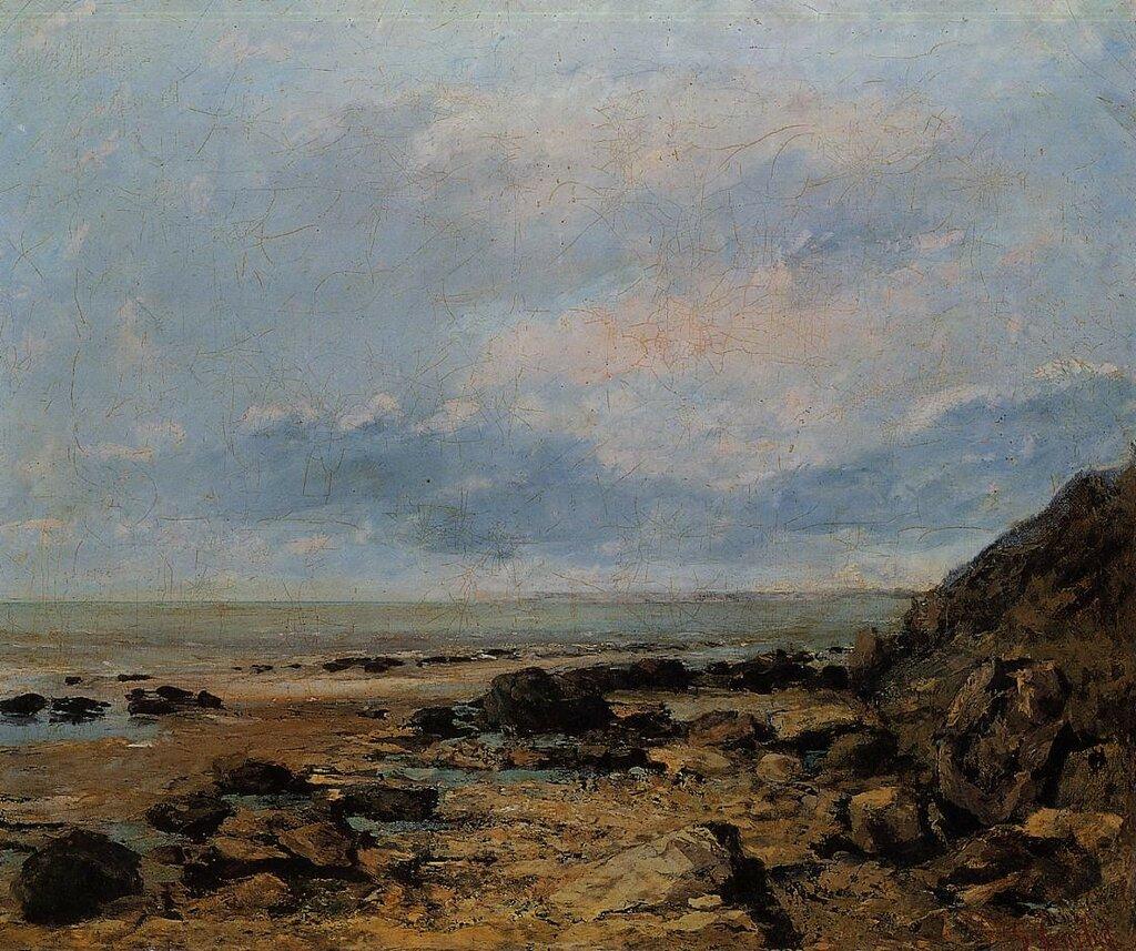Гюстав Курбе: Скалистый берег моря