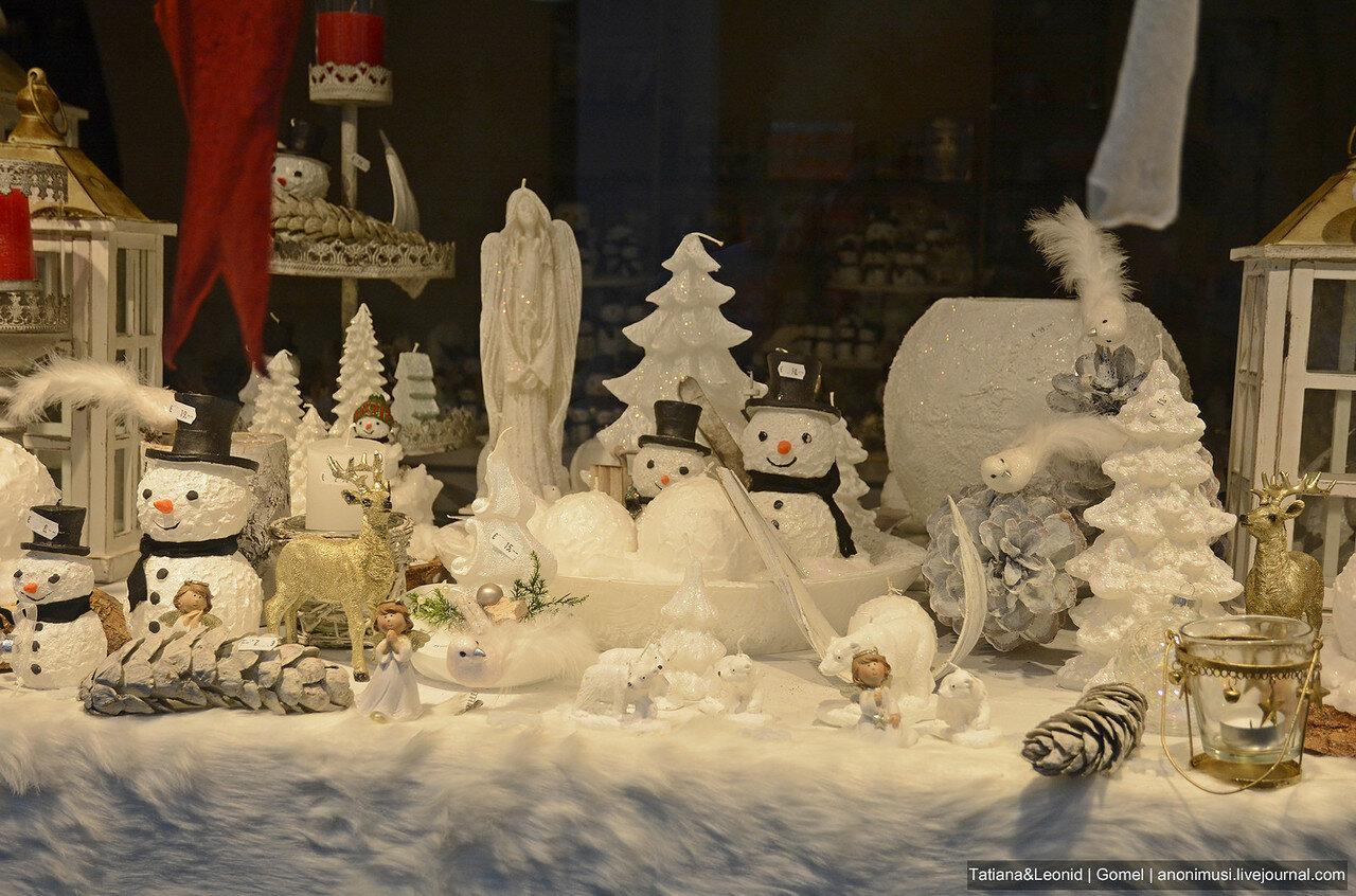 Рождественские витрины в Baden bei Wien. Австрия