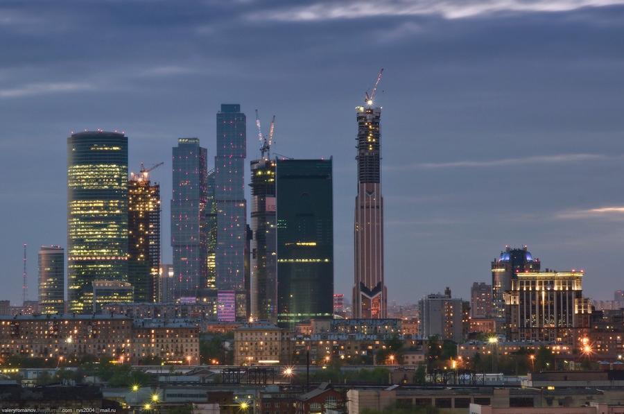 9. Вид на Москва-Сити, Москва. Май 2012