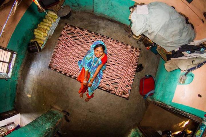 Комната 348 — Аша, Индия.