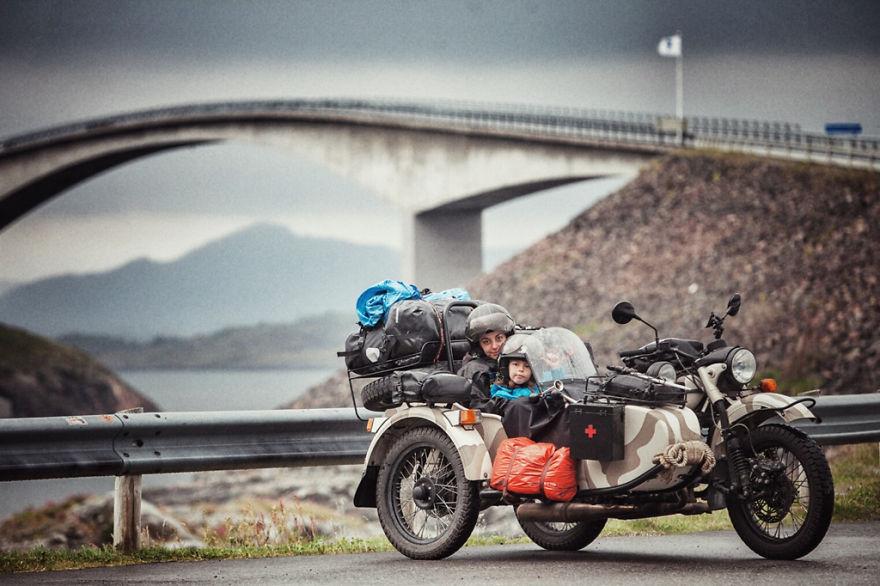 10. Атлантическая дорога (Норвегия)