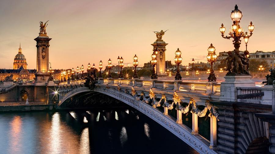 4. Мост Александра III, Франция