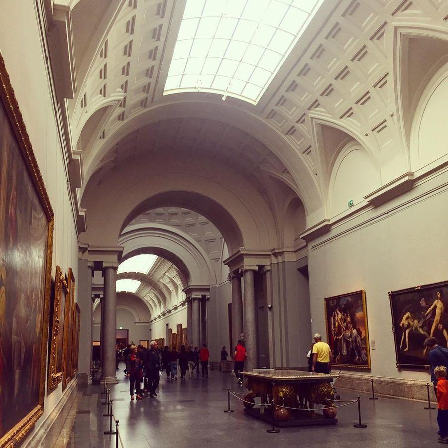 22. Национальный музей Прадо (Мадрид, Испания) Наряду с яркими произведениями искусства, принадлежащ