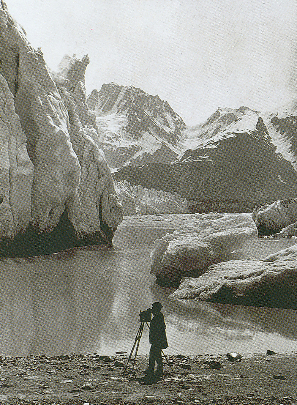 Аляска, ярко выраженное таяние ледников. Ландшафт изменился донеузнаваемости. Фотографии 1891 и200