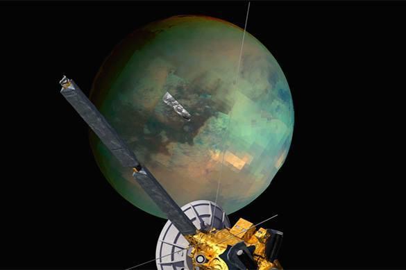 NASA показало дюны наТитане