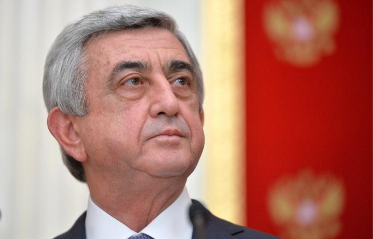 Путин поздравил Сержа Саргсяна сДнем независимости Армении