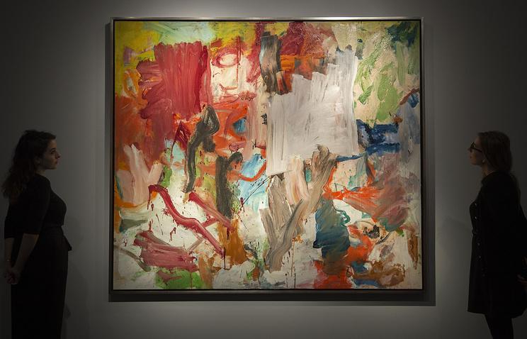 Безымянную картину Виллема деКунинга продали за66 млн. долларов