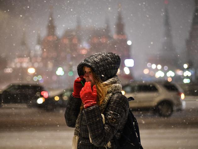 Прошедшая ночь стала самой морозной сначала зимы— Погода в столице России
