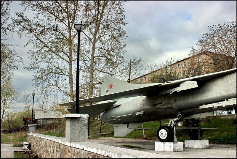 Кыштым 1421 Музей ПВО - МиГ-27К