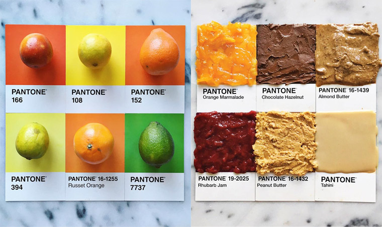 Pantone Food – Turning colorful ingredients into appetizing Pantone colors (28 pics)