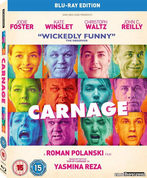 Резня / Carnage (2011/BDRip/HDRip)
