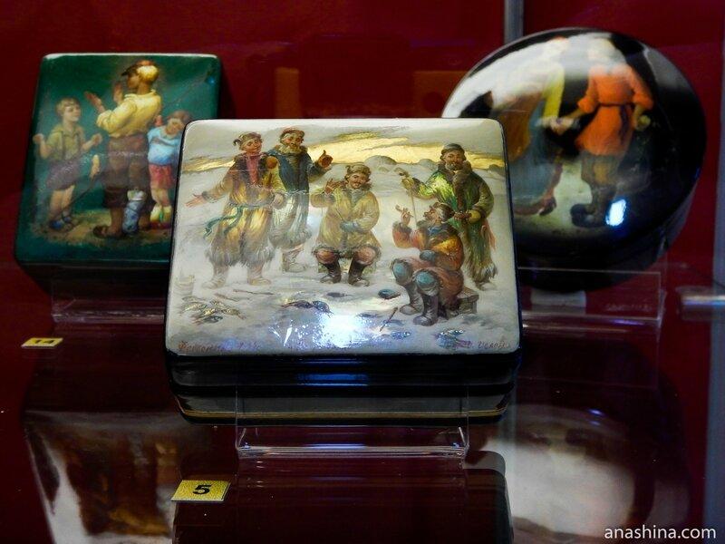 Шкатулки, Федоскинская лаковая миниатюра