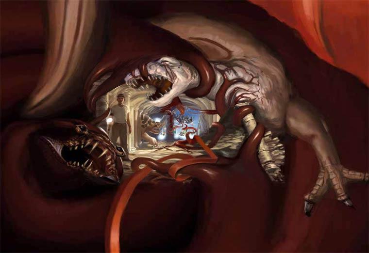 Zoomquilt - Un zoom infini qui vous plonge dans une illustration hypnotisante