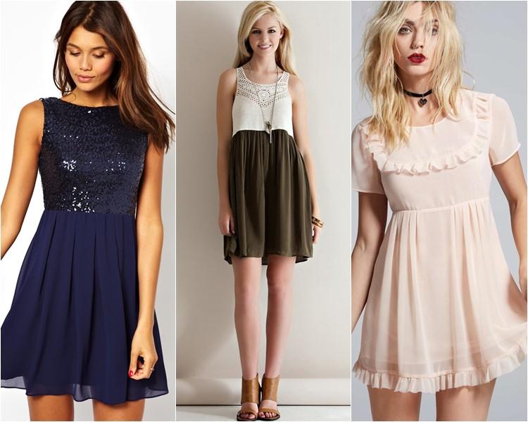 Модные короткие платья 2016 фото 15