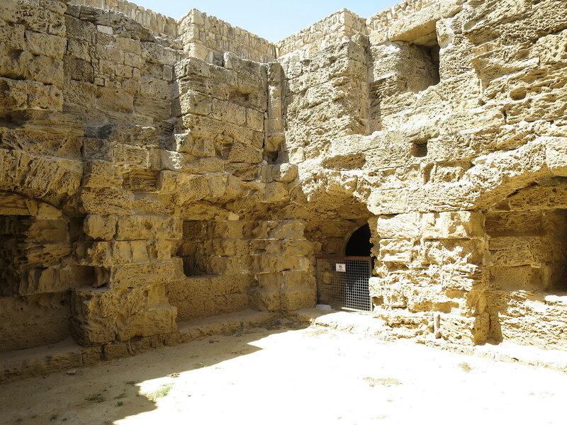 Фамагуста. Крепость. Внутри юго-западной башни 2
