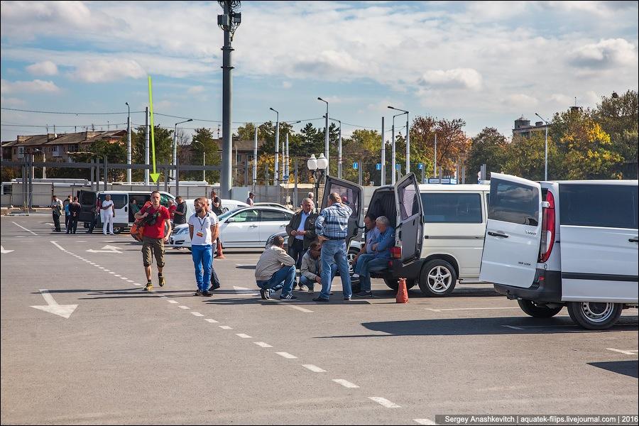 Крымские таксисты