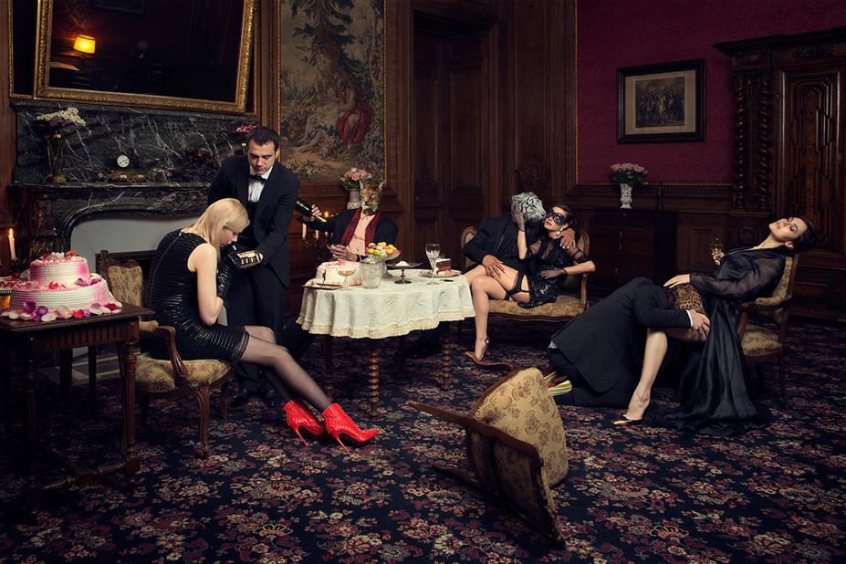 La soiree 2 - Une vie de chateau / A golden youth / photo by Malo