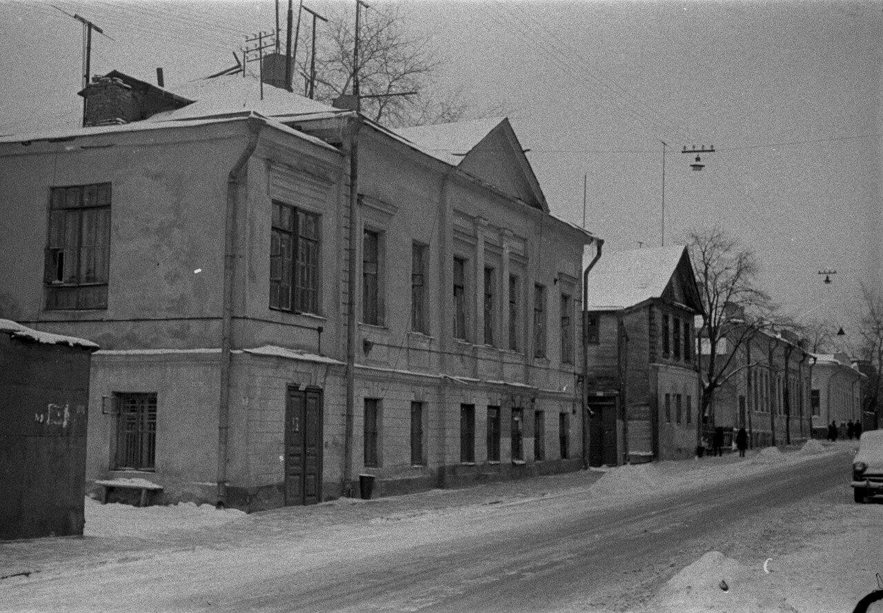 1961. Дурновский переулок
