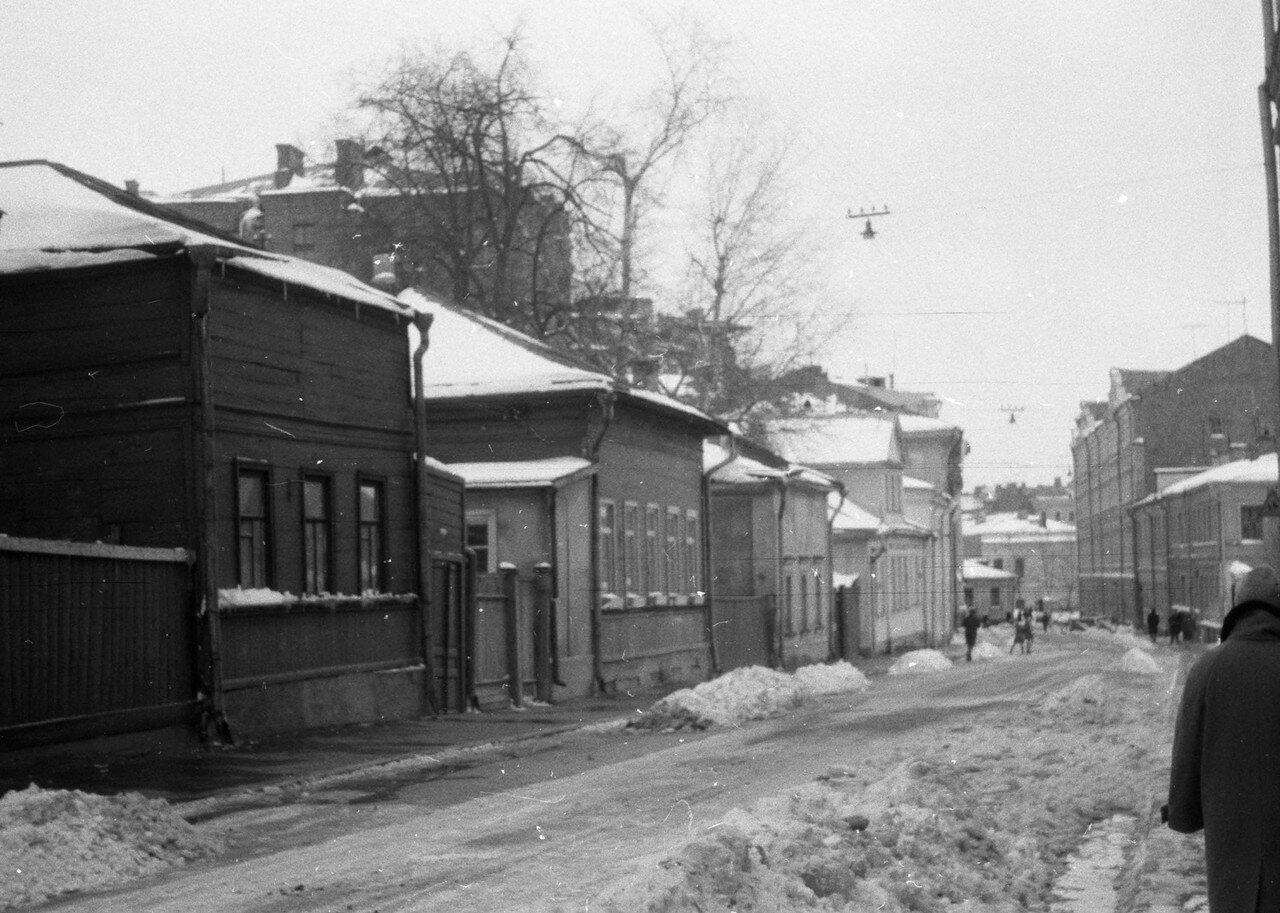1961. Хлебный переулок