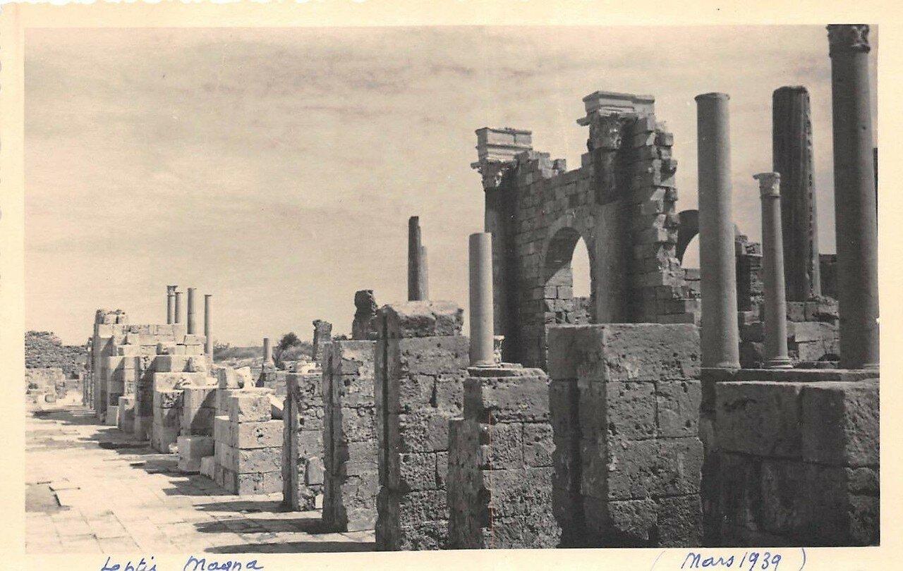 Лептис-Магна. 1939