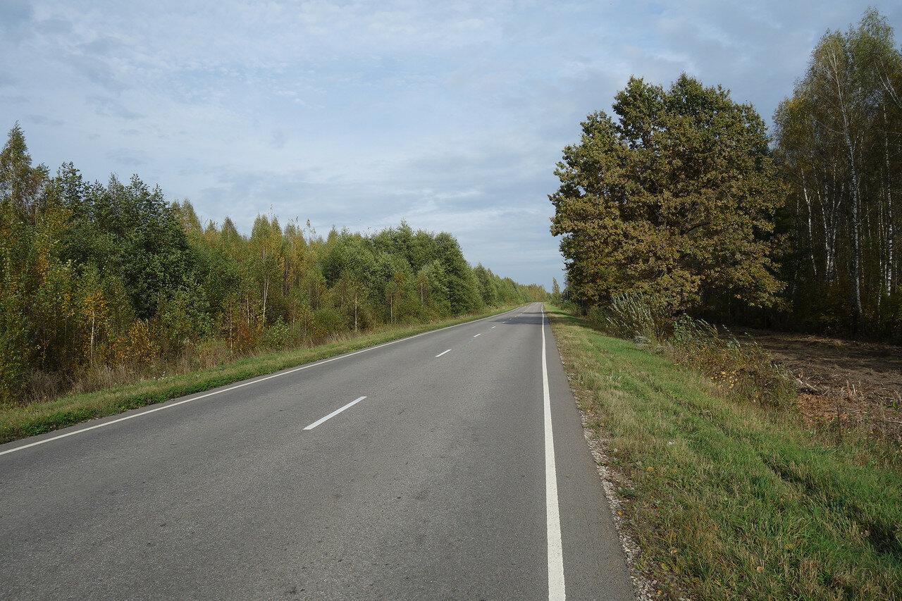 тихое шоссе на Хвастовичи