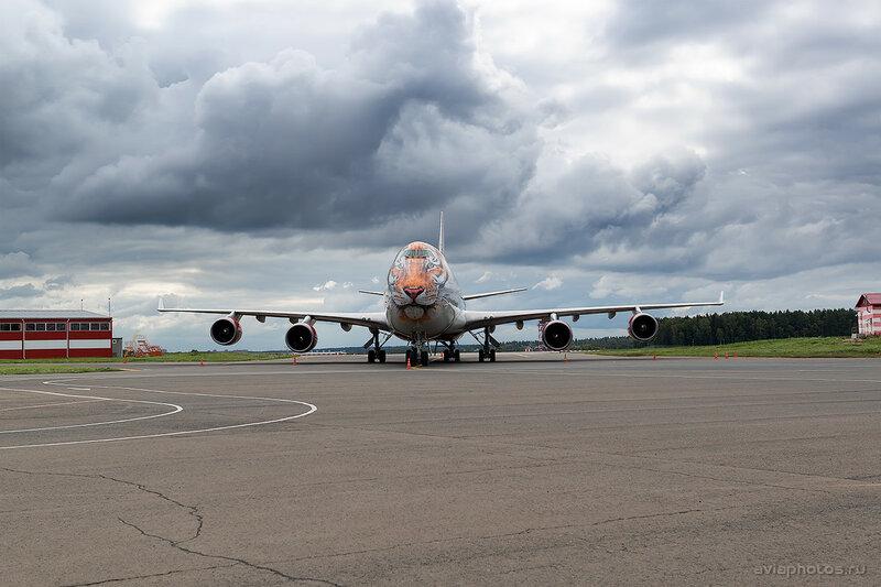 Boeing 747-446 (EI-XLD) Россия D807498