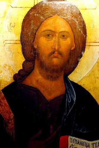Господь Вседержитель. Икона. Москва, XVI век.