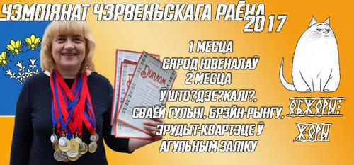 Чемпионат Червенского района - 2017